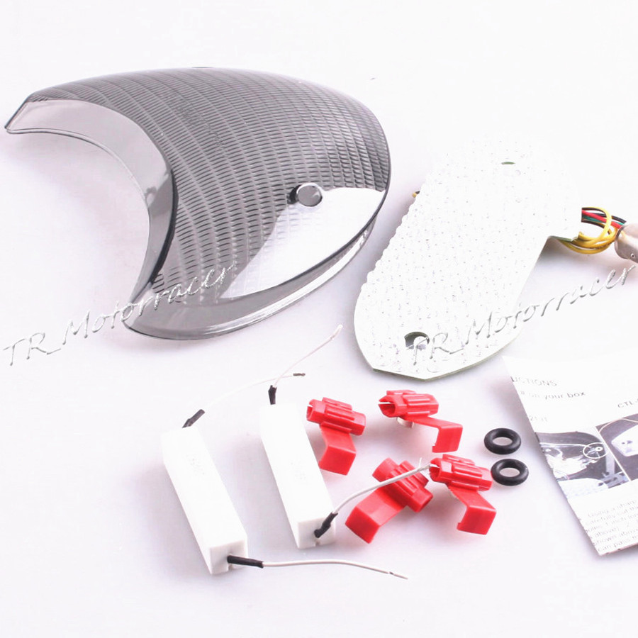 Led Turn Signal Taillight For Ducati Supersport 1999 2000 2001 02 Tail Light Wiring On Diagram 47pmtzd172b 2