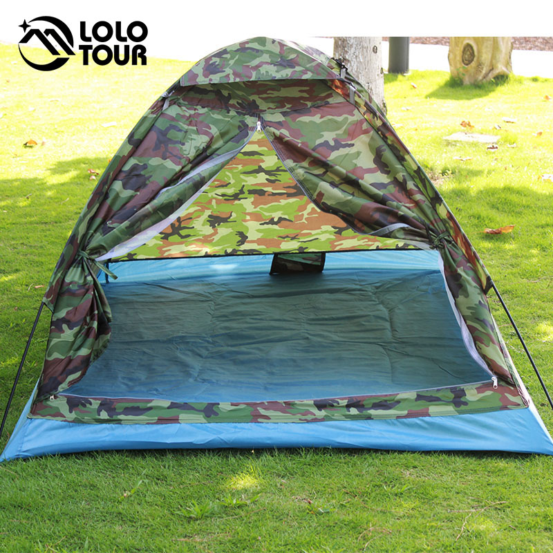 200 * 140 * 110 cm Outdoor Tragbare Single Layer carpas camping Zelt - Camping und Wandern - Foto 5