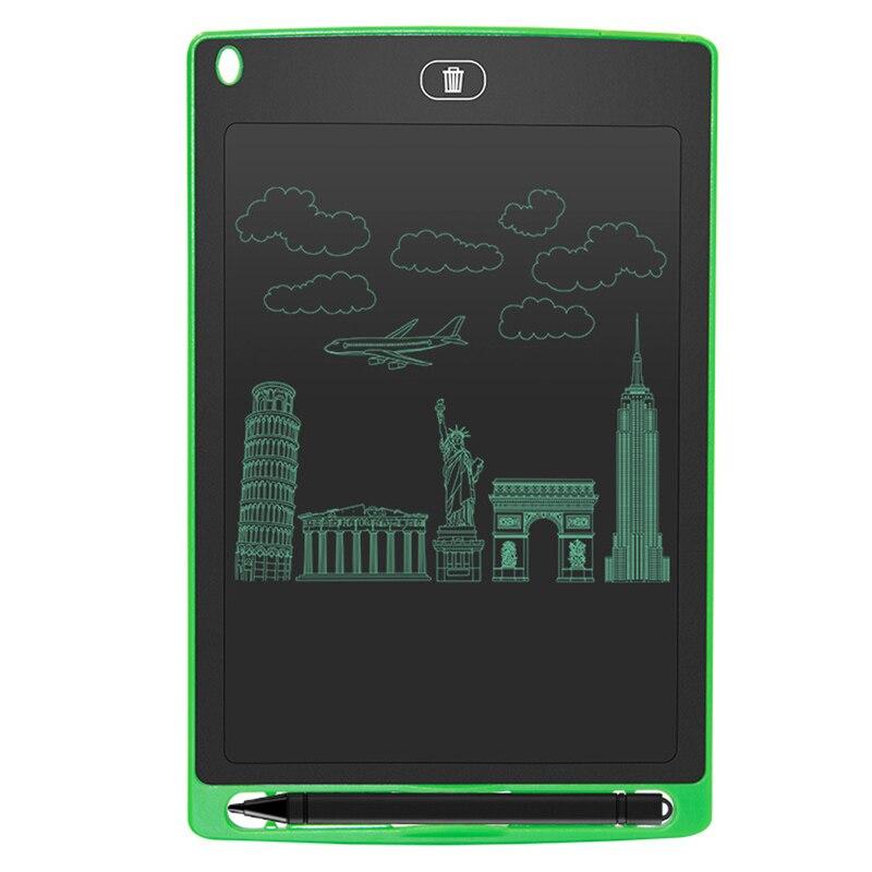 Купить с кэшбэком Mini Board Electronic Blackboard 8.5 Inch for Girls Boy LCD Tablet Magnetic Chalkboard Digital Bulletin Writing Board Flip Chart