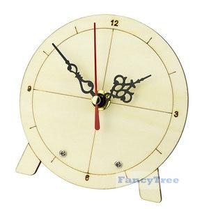 diy kit homemade clock technology handmade invention clock face material kindergarten science experiment Tecnologia