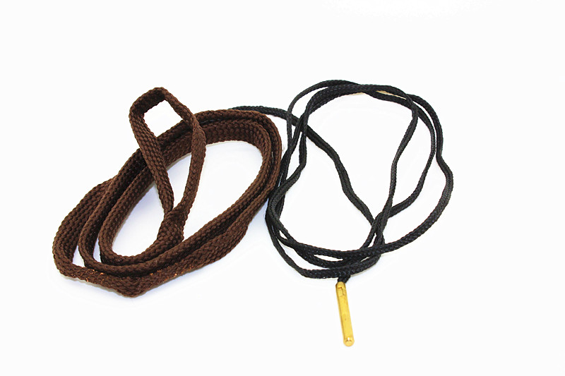 Gun Cleaner For 17 Caliber Rifles .17 cal    nato Brass rifle/pistol Gun cleaning Weighted Cord Pul