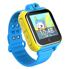 GPS Q730 Contact Display screen WIFI Positioning Good Watch Kids SOS Name Location Finder Machine Tracker Child Secure Anti Misplaced Monitor