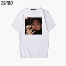 Funny t shirts Rich Brian Dat $tick painting Spoof Print Mens T-Shirt Streetwear Short Sleeve tshirt HipHop Rapper Tops M-3XL