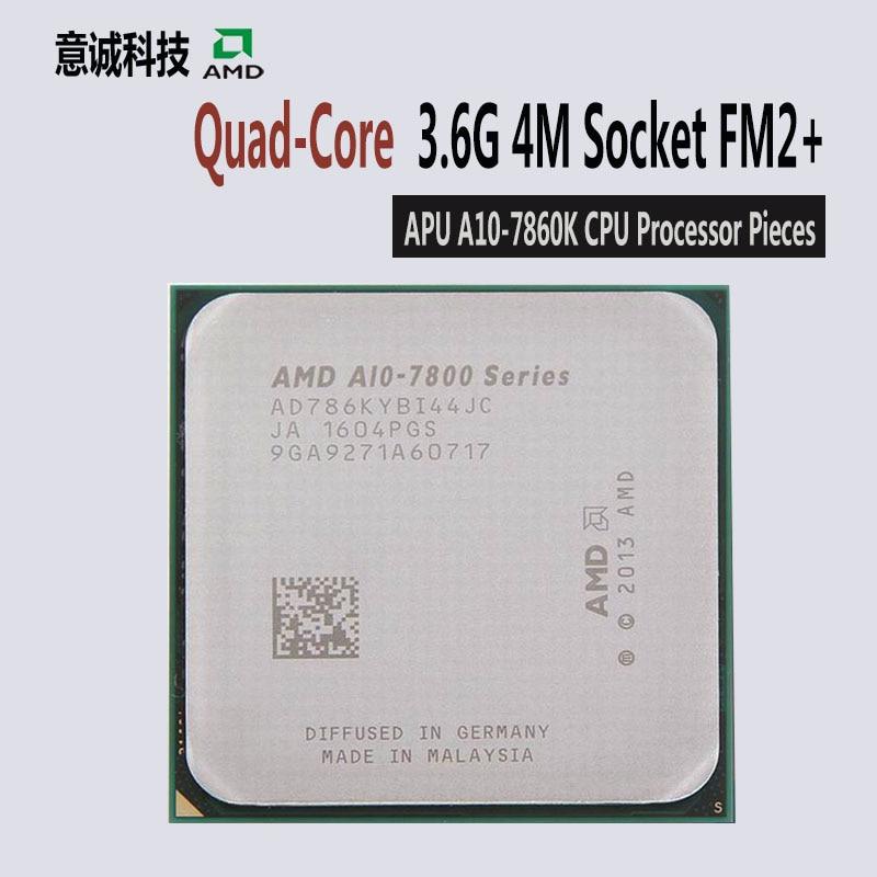 AMD APU A10 7860K CPU Quad Core 3 6GHz 4MB Socket FM2+ Cache