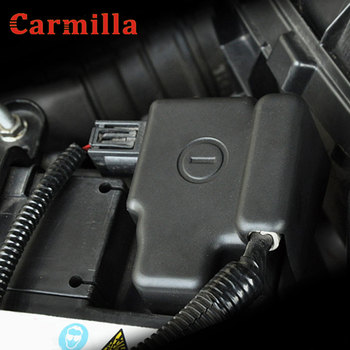 ABS Engine Plastic Car Battery Negative Protection Cover Case ABS Plastic For Honda CRV HRV LD-22 Accessories image