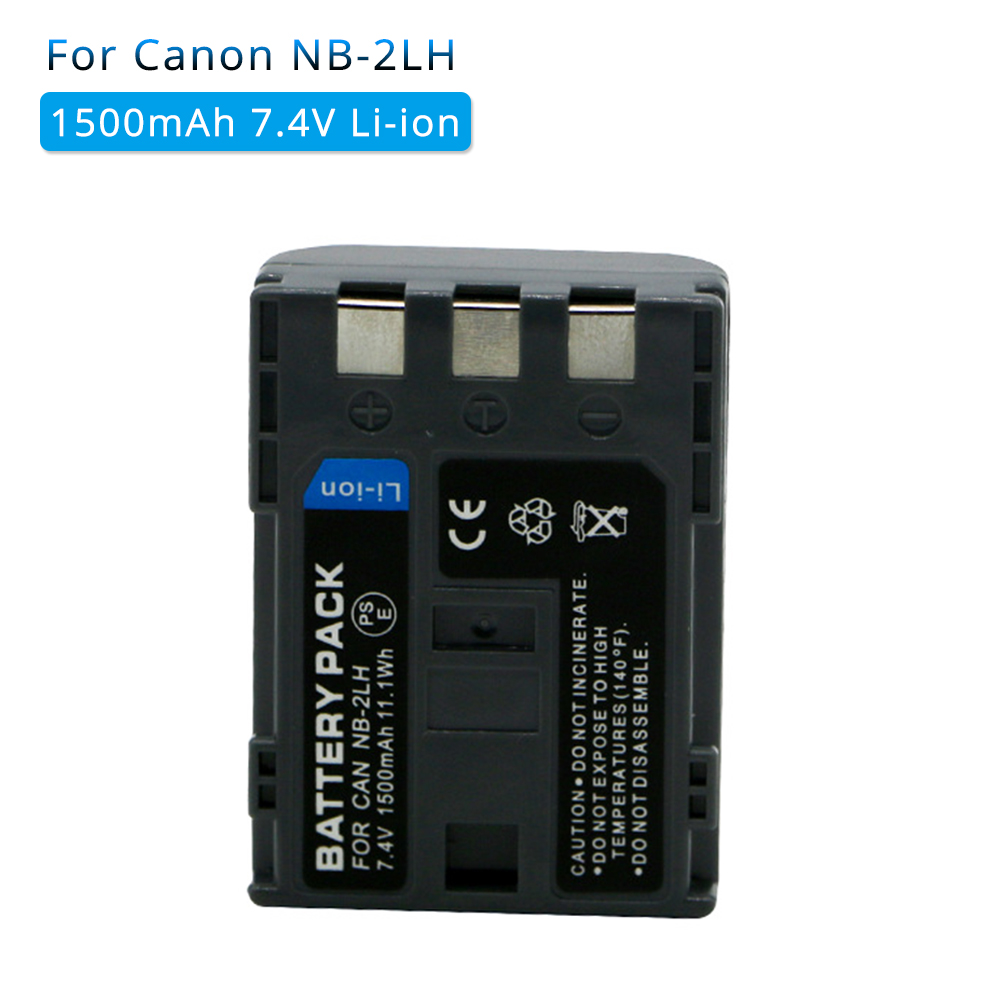 1PCS 1500mAh NB-2L NB 2L NB2L NB-2LH NB 2LH NB2LH Digital Camera Battery For Canon Rebel XT XTi 350D 400D G9 G7 S80 S70 S30 image