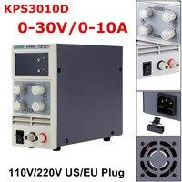 LED Voltage Regulator KPS3010D 110V/220V DC US/EU 0 30V 10A Switching Power Supply Precision Low Ripple/Noise Highly Efficient