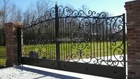 Wrought Iron Custom Driveway Gate wrought iron gate