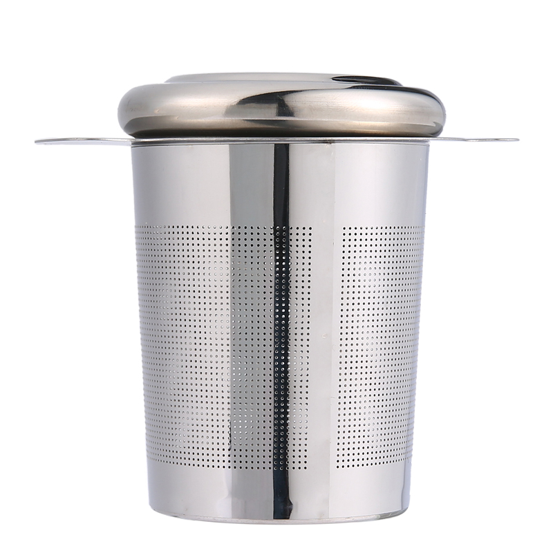 Pawaca Reusable Stainless Steel Tea Infuser Basket with Lid Cover 2 - Kitchen, Dining and Bar - Photo 3