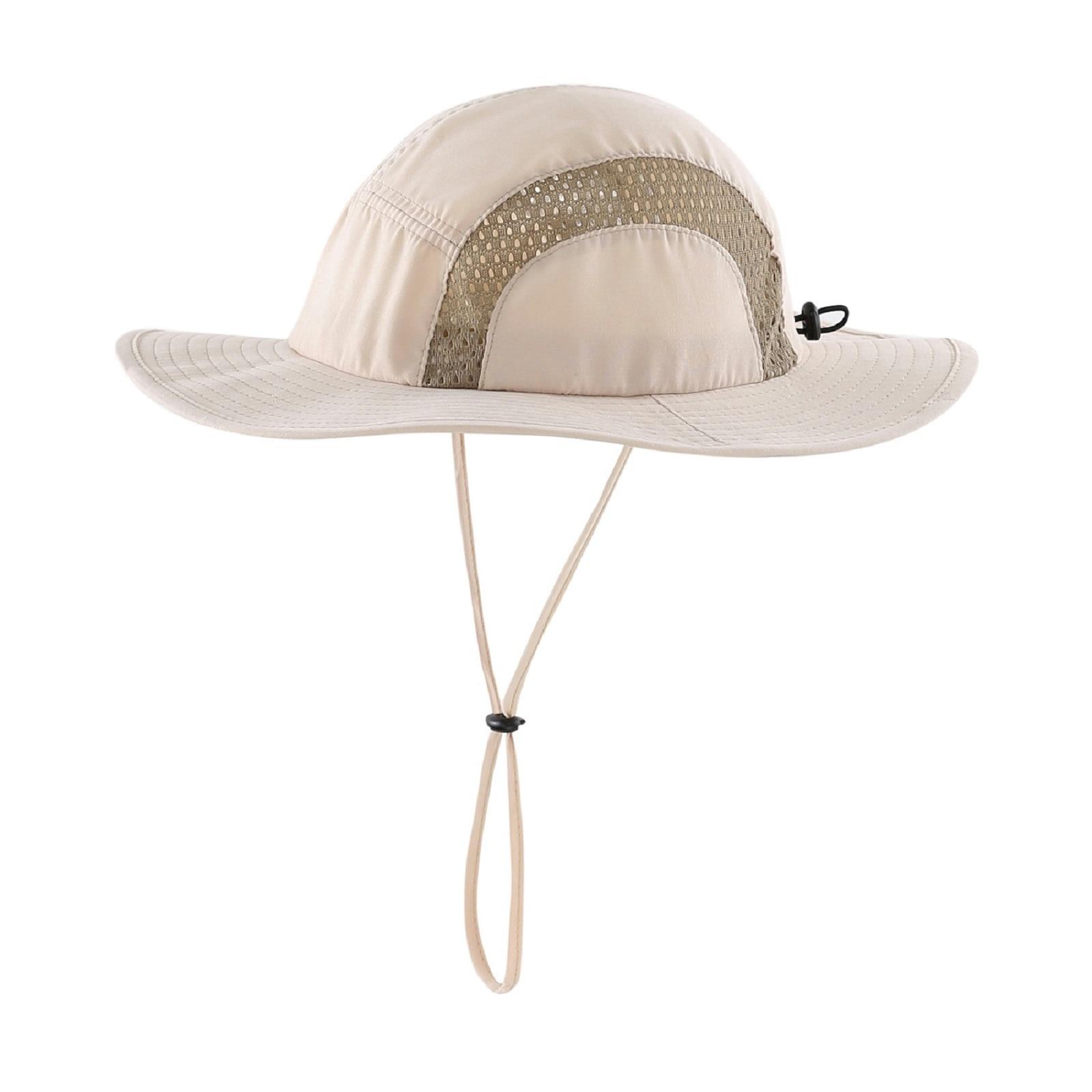 Home Prefer Kids UPF50 Safari Sun Hat Breathable Bucket Hat Summer Play Hat