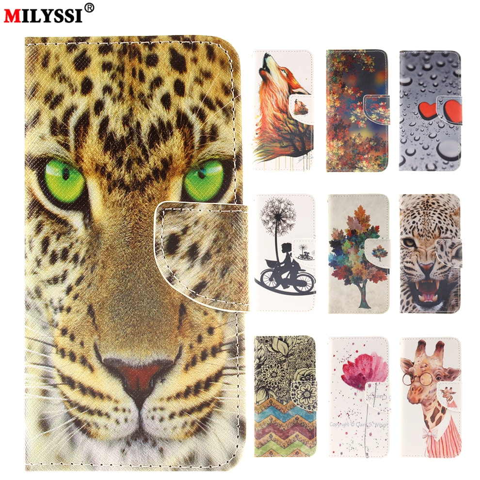 Colorful Print PU Leather <font><b>Case</b></font> for <font><b>Sony</b></font> <font><b>Xperia</b></font> <font><b>Z3</b></font> Z5 mini M2 M4 M5 Flip Cover with Card Wallet Stand <font><b>Phone</b></font> <font><b>Cases</b></font> image