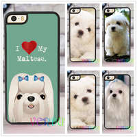 I Love My Maltese Dog Puppies Fashion Case For Iphone 4 4s 5 5s SE 5c