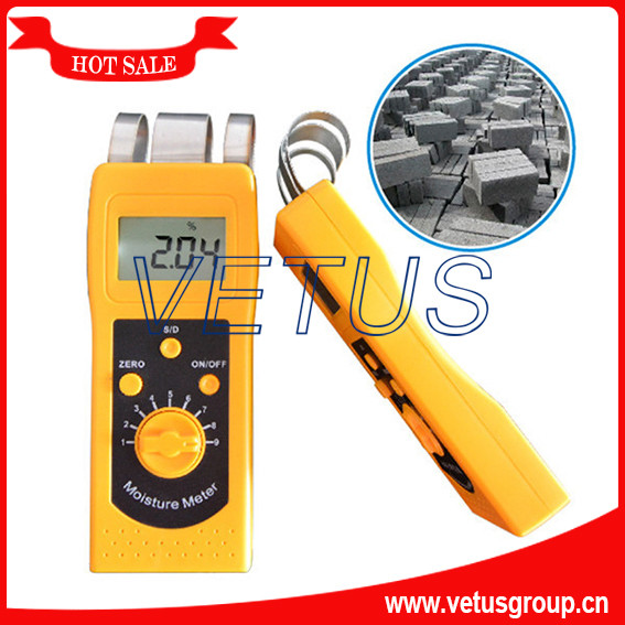 DM200C 0%-80% Concrete Moisture Meter new dm200c small in size and light in weight digital concrete moisture meter tester