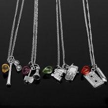 be8f21df6984 Mqchun moda extraño cosas collar gótico joyería mujeres gargantilla collar  colorido bombilla Lámparas pendents collar