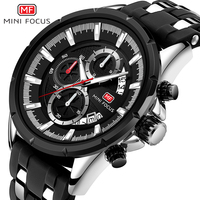 Minifocus masculino relógio de pulso masculino relógio de pulso de quartzo masculino mf0273g.01