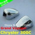 Chegada nova corpo Stying ABS Chrome 2 pc/lote único Chrysler 300C / Grand Voyager 2009 - 14 frete grátis