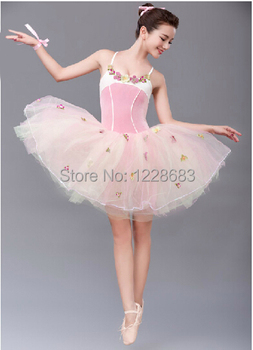 Free Shipping Adult Women Girls Kids Fairy Flower Bailarina Tutu Skirts Adults Professional Classical Ballet Tutu