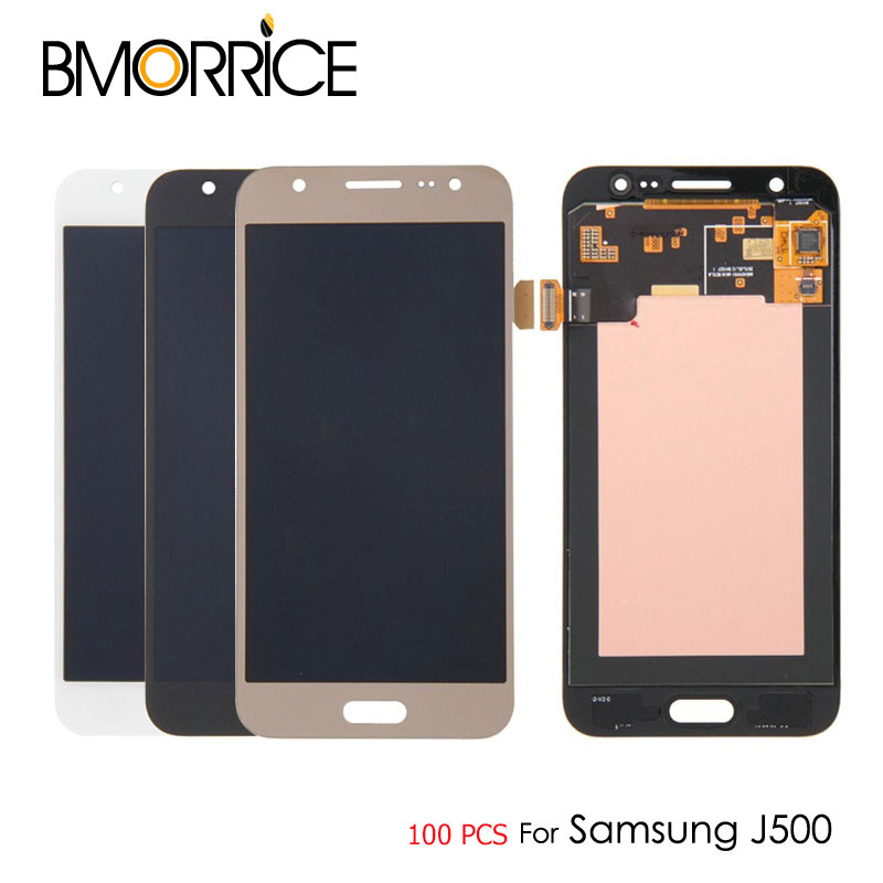 Super-Oled Lcd-Display Samsung J5 Digitizer Touch-Screen J500F 100pcs for AAA Qaulity
