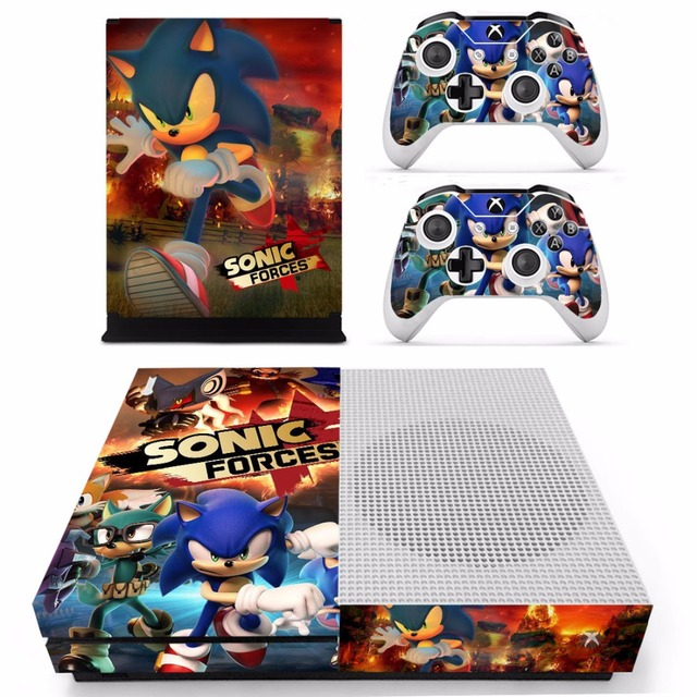 Game Sonic Forces Skin Stickers For Xbox One S