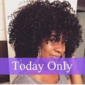 Малайзийский Вьющиеся Переплетения Человеческих Волос Афро Кудрявый Вьющиеся Волосы Человека 4 Связки Afro Kinky Вьющиеся Волосы Вьющиеся Переплетения Человеческих Волос расширения