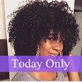 Encaracolado malaio Tecer Cabelo Humano Afro Kinky Curly Do Cabelo Humano 4 Feixes de Cabelo Encaracolado Afro Crespo Encaracolado Tecer Cabelo Humano extensões