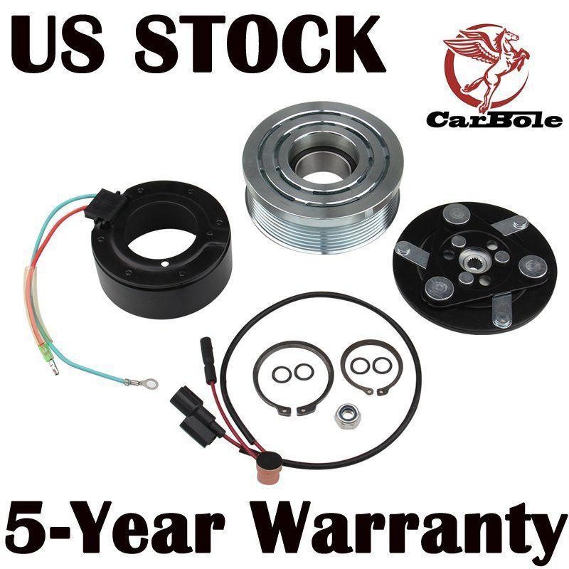 CARBOLE  Ac Compressor Clutch Kit For  Honda Civic 1.8 L 2006 2007 2008 2009 2010 2011 A/C