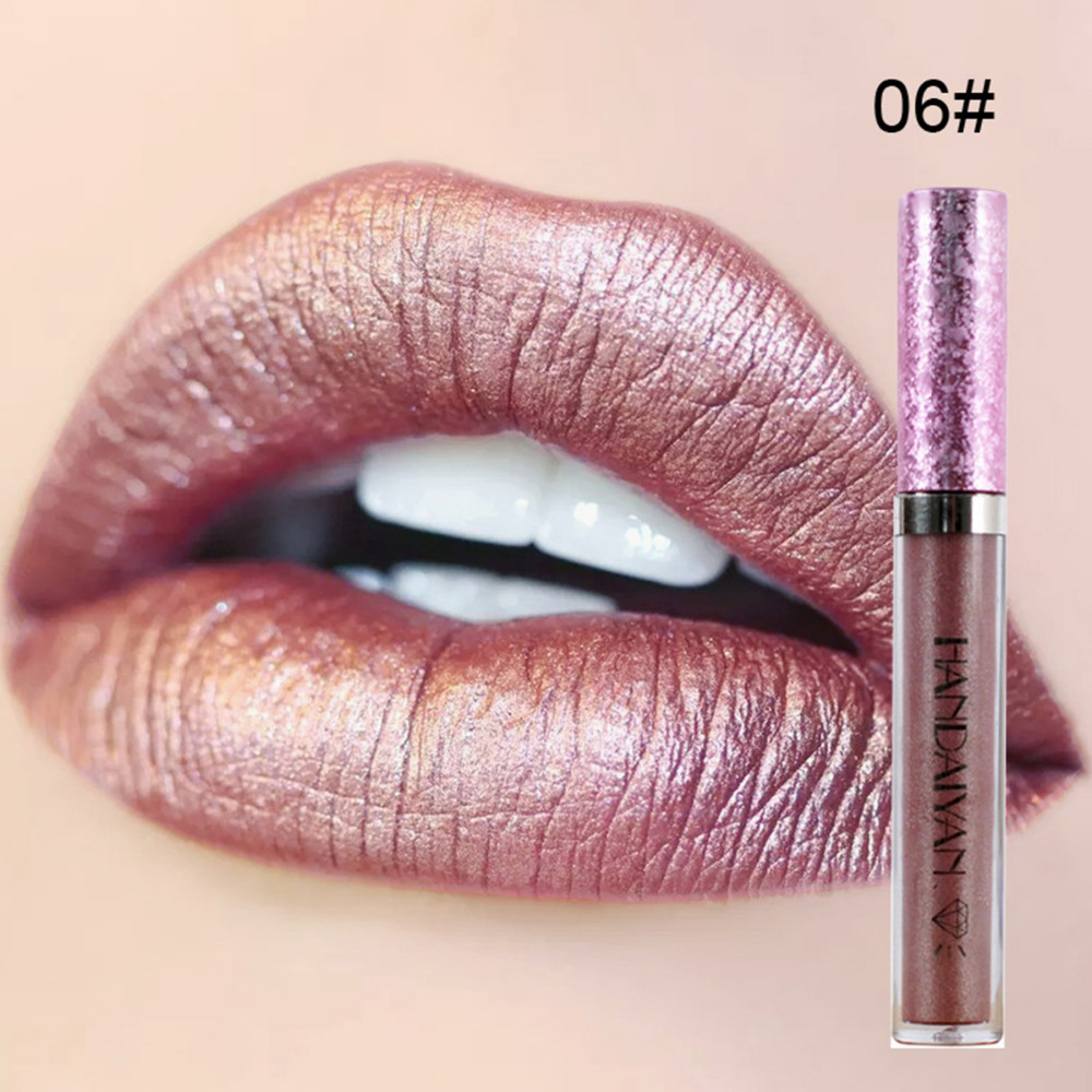 Diamond Pearly Lustre Glam Shiny Lip Gloss Moisturizing Lip Glosses Natural Ingredients Long Lasting non-stick long day wear 5