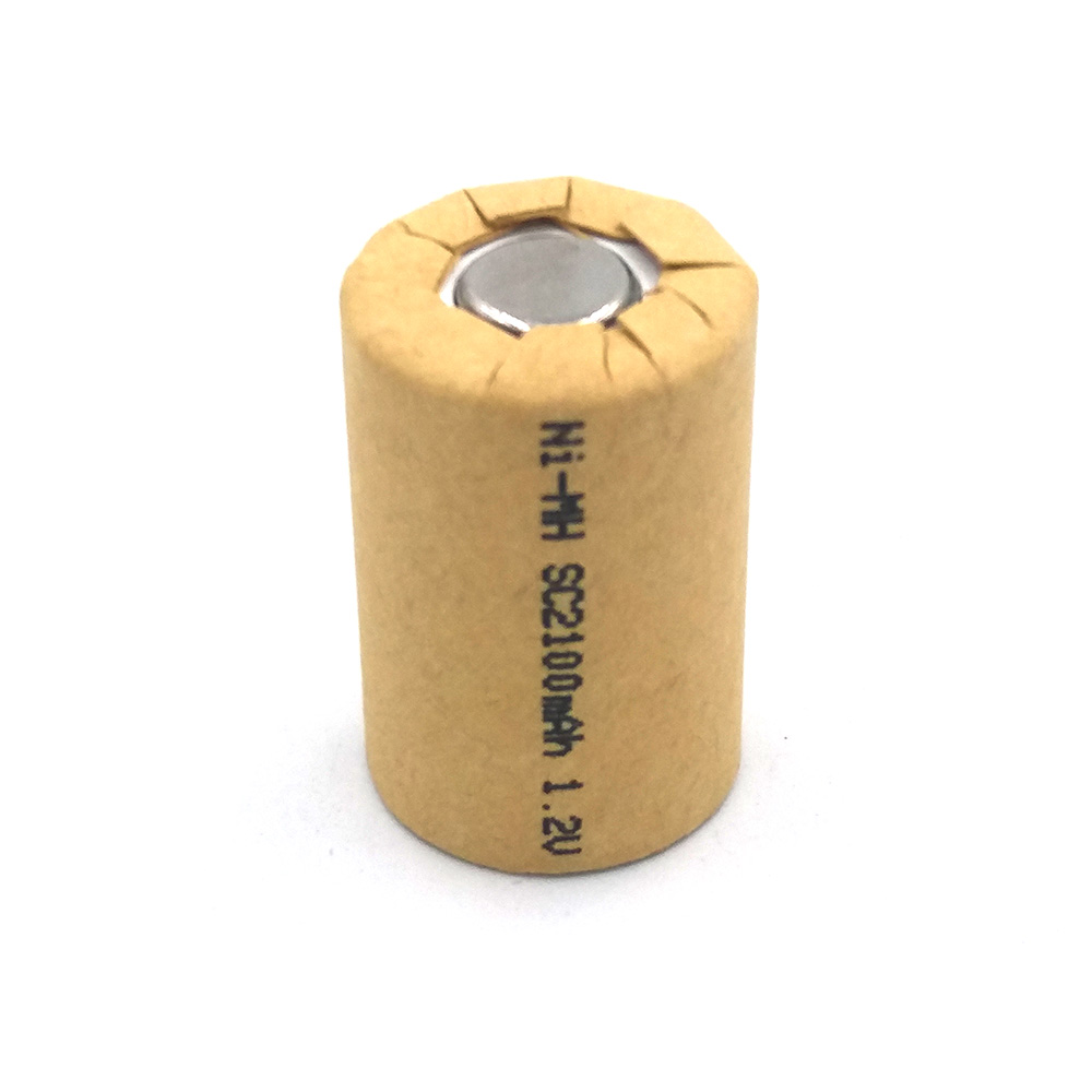 Ni-MH 4/5SC2100mAh 5pcs NIMH 4/5SC 2.1Ah Power Cell,rechargeable battery cell,power tool battery cell,discharge rate 10C-15C
