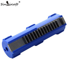 SHS Full Steel 14 Teeth Piston for Airsoft AEG Gearbox Ver 2/3- Free Shipping sinairsoft shs cnc full steel 15 teeth piston with aluminum piston head m4 ak series set for airsoft aeg gearbox v2 v3 v6