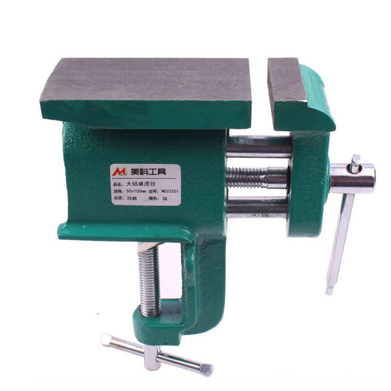 Table Vise Miniature Hand Carved Mini Vice Woodworking Clamp  цены