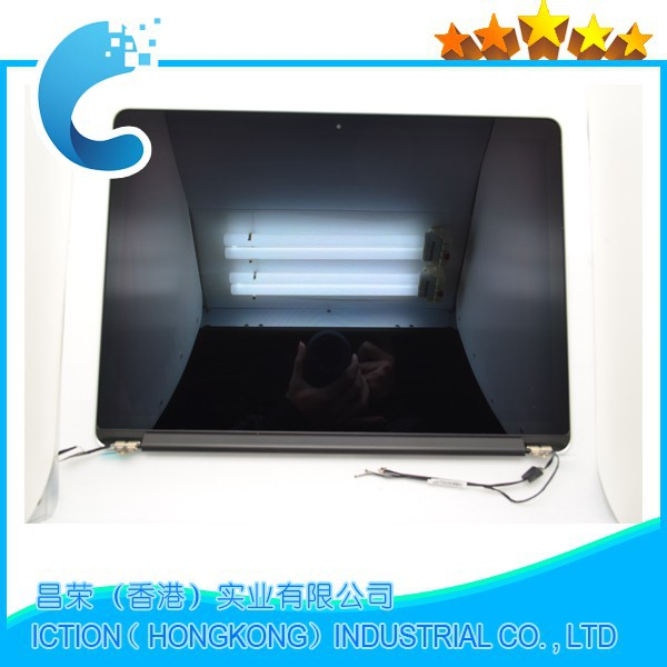 2015 Genuine 98% New A1502 Full Display Assembly for Macbook Pro Retina 13 A1502 LCD Screen Complete Assembly MF839 MF840 M841 used original 13 inch a1237 lcd assembly for macbook air full complete 1304 lcd display screen assembly tested replacement