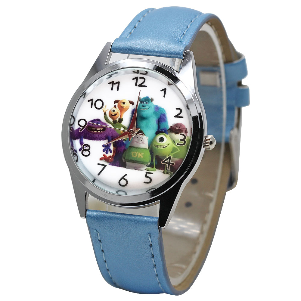 Children's Fashion Color Children's Watch Toy Story Cartoon Boy Quartz Movement Clock Girl Casual Bracelet Clock Gift  Relogio