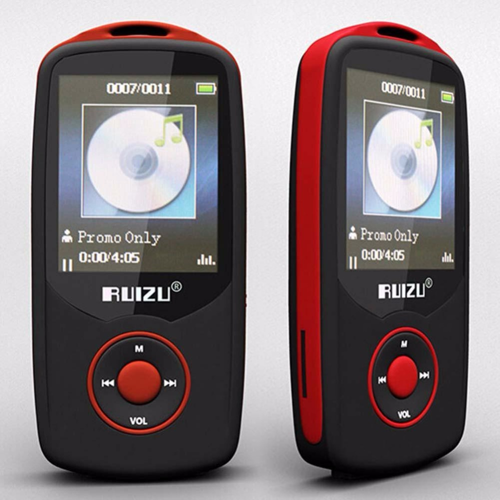 Hot 1 8 TFT Bluetooth MP3 Player support TF card 4G storage Built in FM Radio