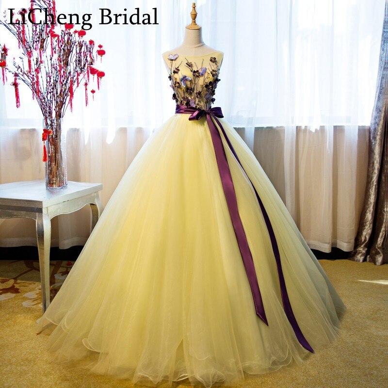 Yellow Wedding Gown – fashion dresses
