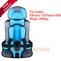 Free shipping High quality Baby Car Seats Child Car Safety Seat For Kids 5-12 Years Old 9-36KgsFactory Direct Wholesale 7 Colors