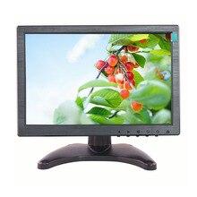 """ЖК-дисплей монитор 10.1 """"резистивный сенсорный экран монитора Super TFT ЖК-дисплей цветной телевизор монитор с AV/BNC/VGA/ интерфейса HDMI/USB"""