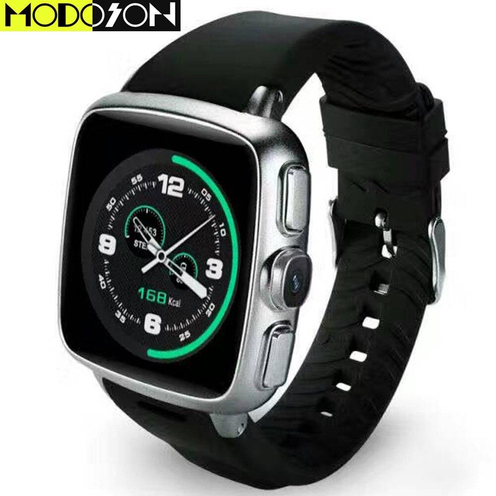 MODOSON Android 4 4 OS Smart Watch Z01 Sport Smartwatch Clock GPS WiFi SIM Card Bluetooth