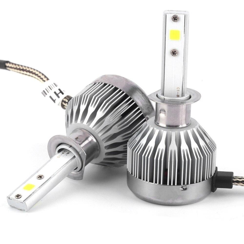 2Pcs Car Headlight COB LED Chips Headlights LED Headlight Bulbs Headlamp H1 H3 H4 H7 H9 12V 60W 6000LM LED Car Headlight Kit hiba javed when perceptions change