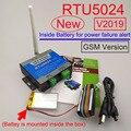2019 Versie RTU5024 gsm relais sms call afstandsbediening gate opener schakelaar Pc programmeur en Batterij voor stroomuitval alert