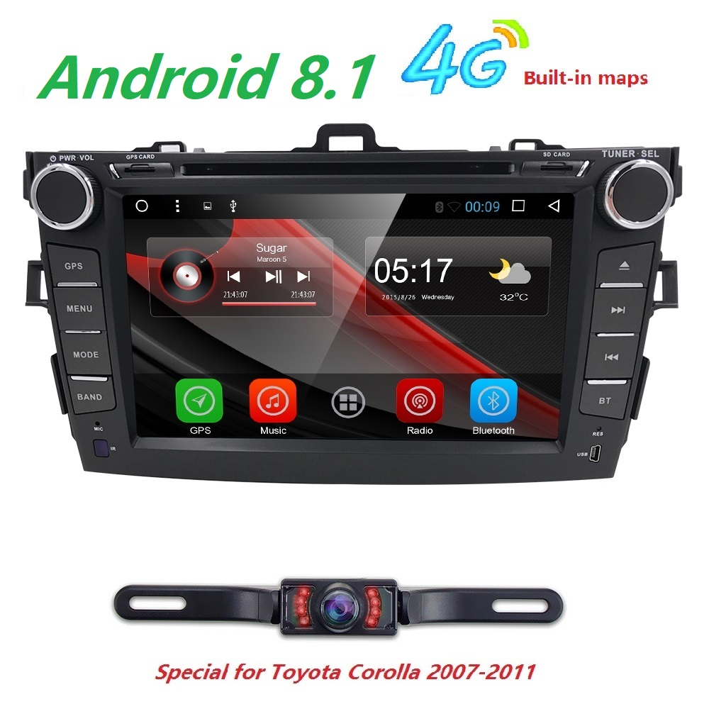 2 Din Android 8 1 Car Radio Car Dvd Automotivo Head Unit