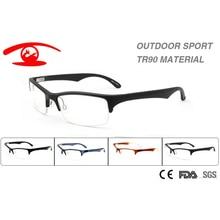 Wholesale (10pcs/lot) 2016 New  Men Outdoor Sports Eyeglasses Frame  TR90  Prescription Eyeglasses Frame oculos de grau  raybomb 2016 new tr90 frame
