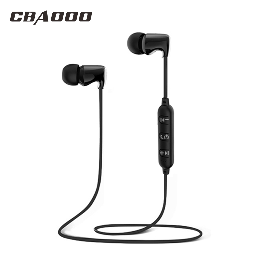 CBAOOO Wireless Bluetooth Earphone Sport Waterproof hifi Super bass Stereo Headset Magnetic Earphone with Mic for xiaomi iphone new dacom carkit mini bluetooth headset wireless earphone mic with usb car charger for iphone airpods android huawei smartphone