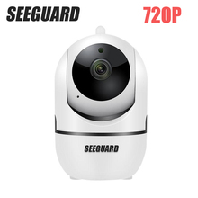 SEEGUARD HD 720P Home Security IP Camera Two Way Audio Wireless Mini Camera 1MP Night Vision CCTV WiFi Camera Baby Monitor sh100s 1mp video surveillance doorbell outdoor camera wifi wireless cam 720p baby monitor night vision wireless ip camera