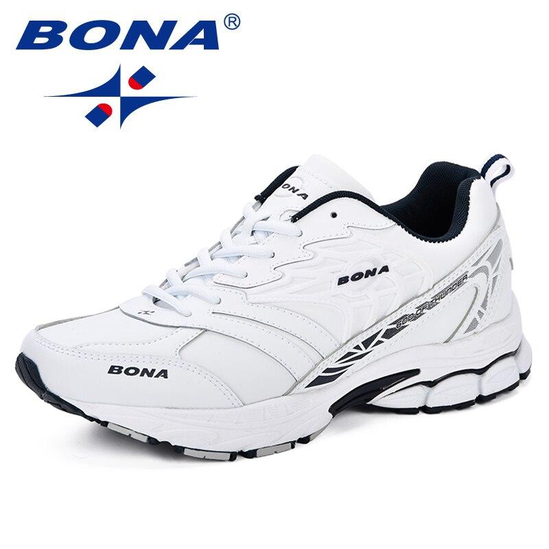 BONA Sneaker hommes 2018 nouveau Designer Atunmn respirant hommes chaussures confortable à la mode hommes chaussures pour adultes de mode hommes chaussures décontractées - 3