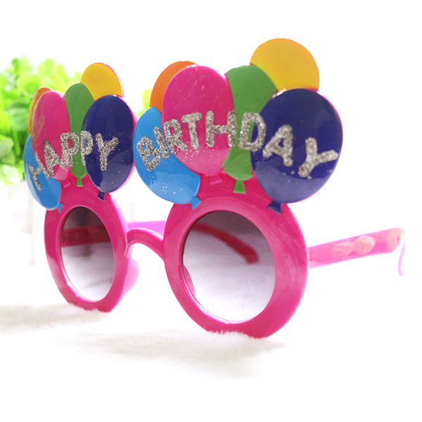 Birthday Party Supply Party Accessory Birthday Balloon Glasses Birthday Props Supplies Happy Birthday Glasses