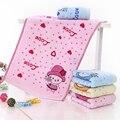 Crianças Seguro Confortável 100% Algodão Toalha de Banho Do Bebê de Alta Qualidade Bebê Toalhetes de Rosto máquina de Lavar a Mão Lavar Toalha de Pano Cuidados Com o Bebê