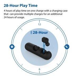 Image 5 - [Nueva versión] Avantree TWS110 Mini auriculares inalámbricos verdaderos para pequeños canales de orejas, Auriculares deportivos Bluetooth 5,0 con control Vol