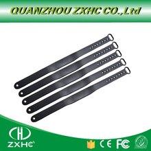 (5 개/몫) 125 khz 가변 실리콘 방수 rfid 팔찌 팔찌 tk4100 id 태그