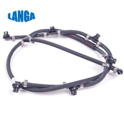 Fuel Overflow Hose  Fuel Return Line Hose Pipe Diesel Injector Hose Leak Line OE: 6420705532 A6420705532 For OM642