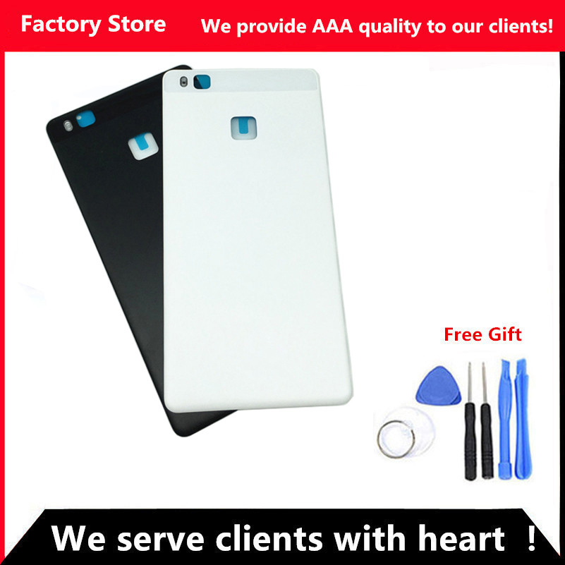 Q&Y QYJOY AAA Quality Battery Back Cover For Huawei P9 Lite Case For P9 Lite Housing Replacement + Back Camera Glass Lens